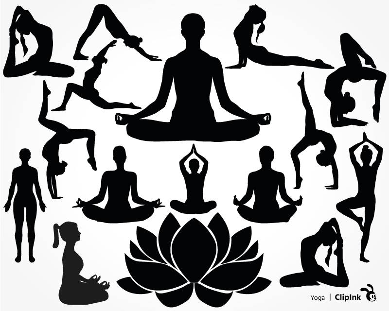 Yoga Svg Pose Svg Svg Png Eps Dxf Pdf Clipink