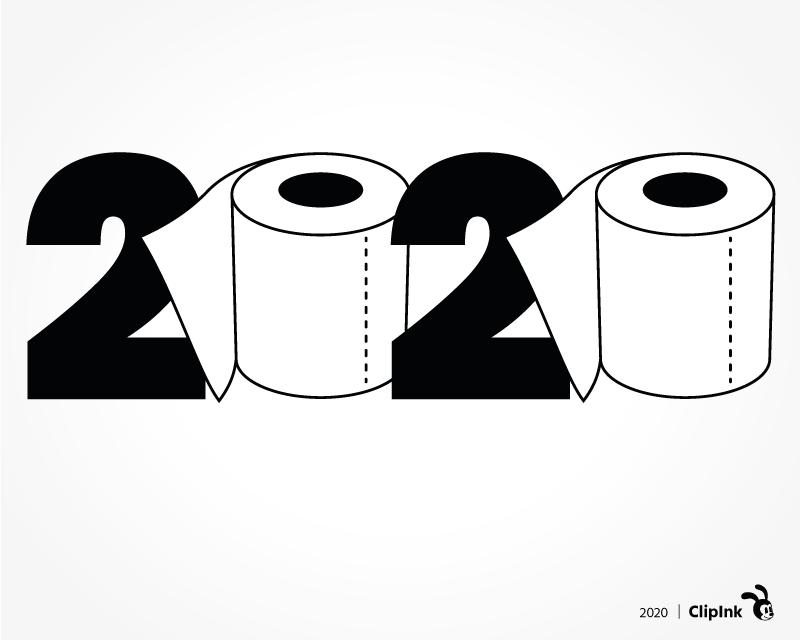 2020 Clipart Toilet Paper Svg Cut File Clipart Png Clipink