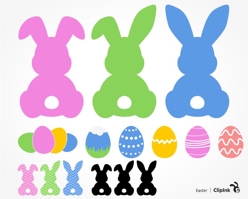 Download Easter Bunny Egg – Svg, Dxf, Eps Cut File SVG