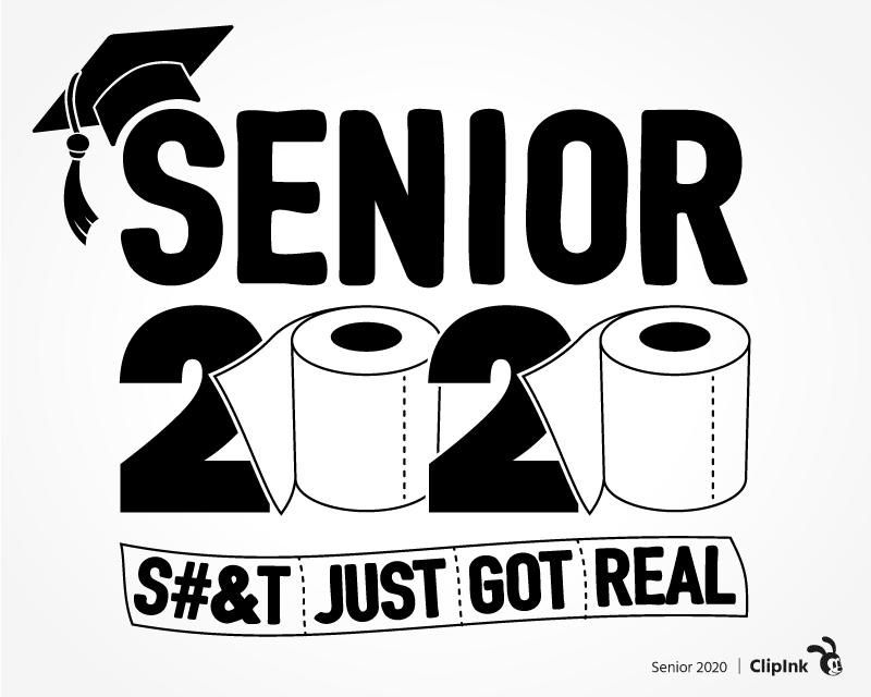Senior 2020 Svg Toilet Paper Svg Cut File Clipart Png Clipink