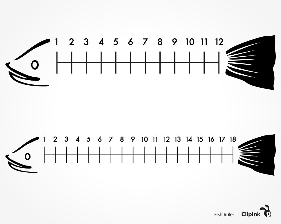 Download Fish Ruler Svg Fishing Image Svg Png Eps Dxf Pdf Clipink