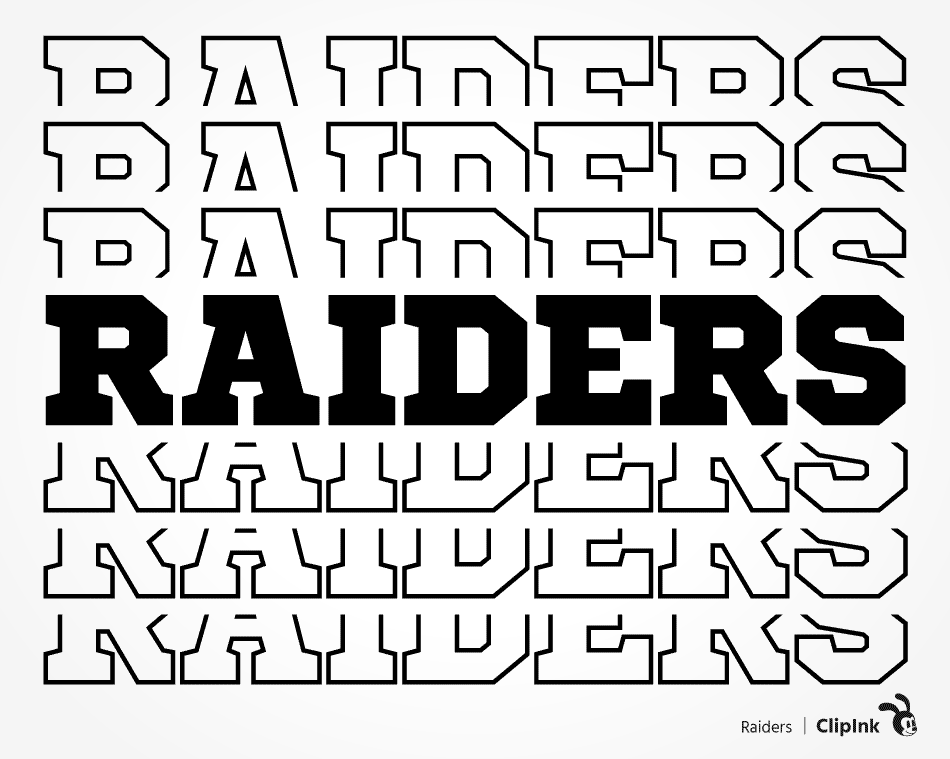 Raiders Svg Sports Team Svg Svg Png Eps Dxf Pdf Clipink