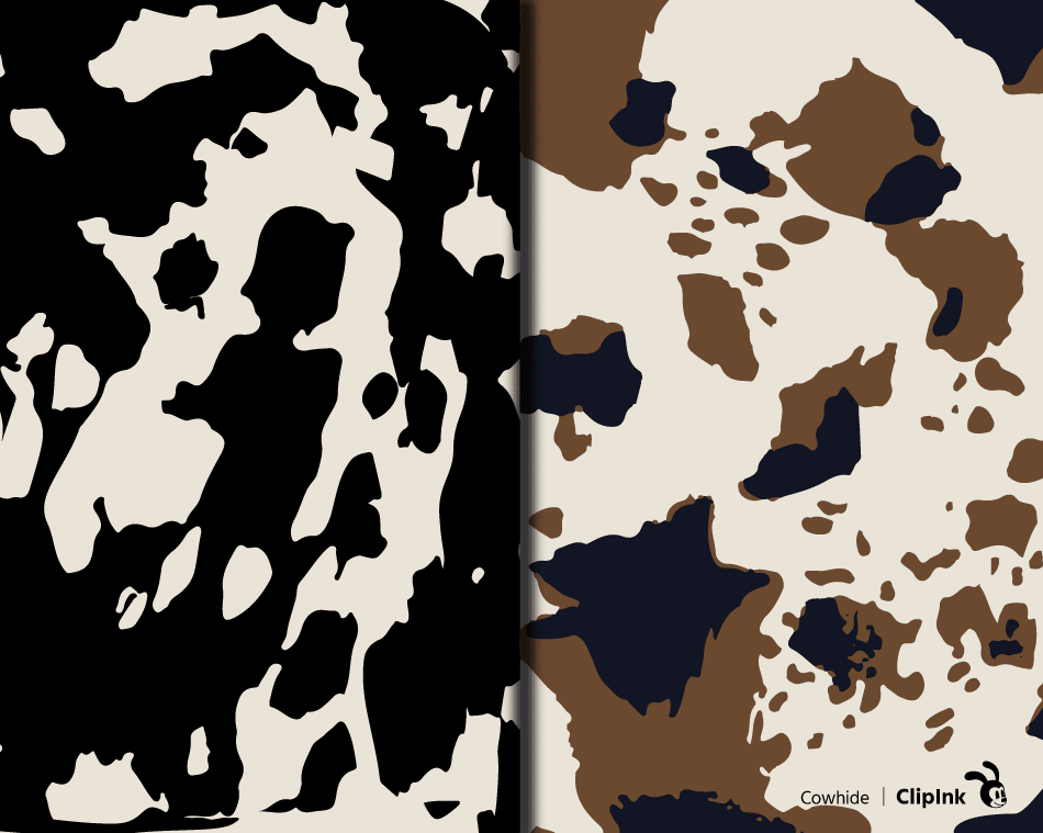 Cowhide Print Svg Cowhide Pattern Svg Png Eps Dxf Pdf Clipink